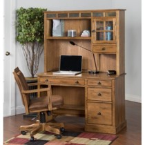 Sedona Single Pedestal Desk - Sunny Designs