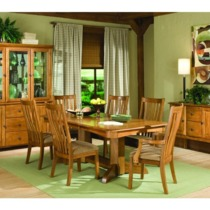 Highland Park Trestle Table - Intercon