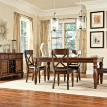Kingston Butterfly Leaf Dining Table - Intercon